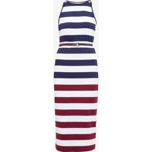 Ted Baker Rowing Striped Bodycon Dress